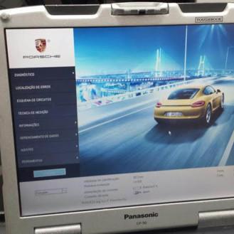 Scanner Porsche 6